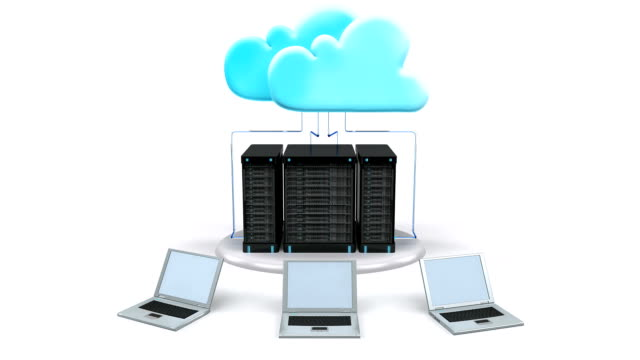 cloud computing technology - cloud computing stock videos & royalty-free footage