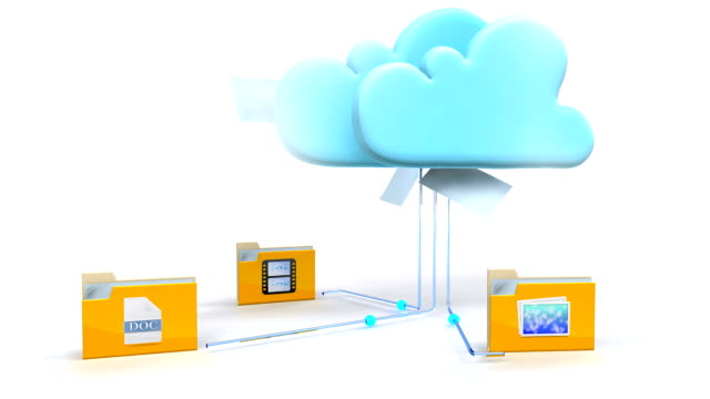 cloud computing technology - storage compartment stock videos and b-roll footage