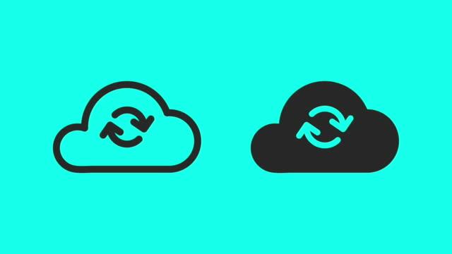Cloud Computing - Vector Animate