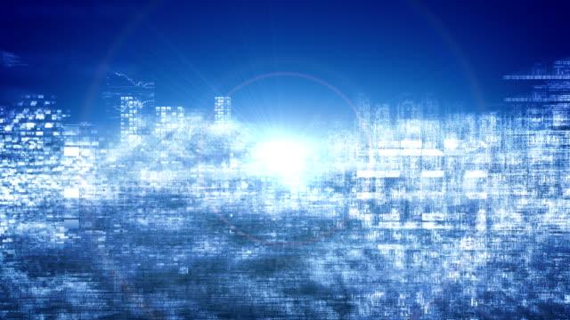 cloud computing (loopable) - cloud computing stock videos & royalty-free footage