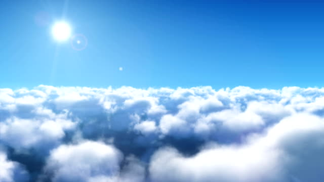 Cloud Fly Through In 4K Resolution