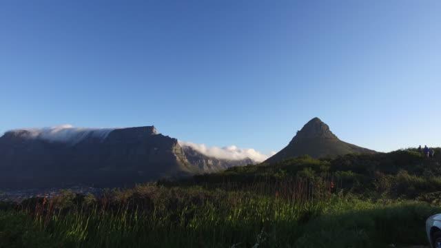 cloud movement. - テーブルマウンテン国立公園点の映像素材/bロール
