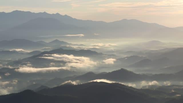 cloud on valley of sunlight - vietnam stock videos & royalty-free footage