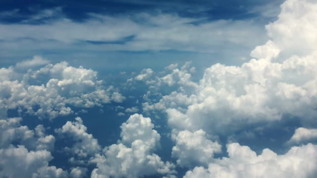 Cloud Scape, Look from Airplane