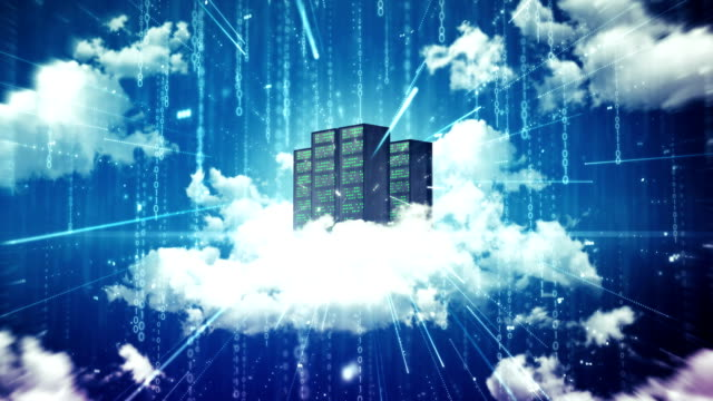 cloud server - cloud computing stock-videos und b-roll-filmmaterial