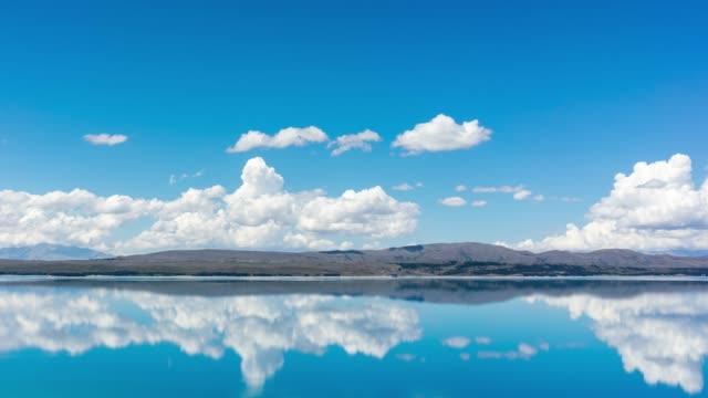 Cloud Sky over the lake