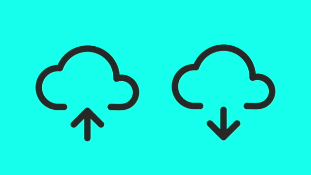 Cloud Storage - Vector Animate