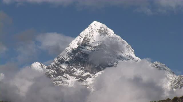 Cloud Timelapse auf Himalaya-Peak