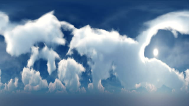 360VR Clouds 4K