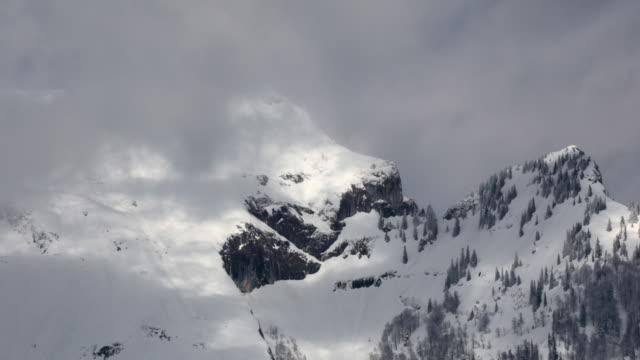 T/L MS ZO Clouds above Schafberg, Salzburg, Austria