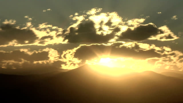 clouds at sunset, timelapse - stratocumulus stock videos and b-roll footage
