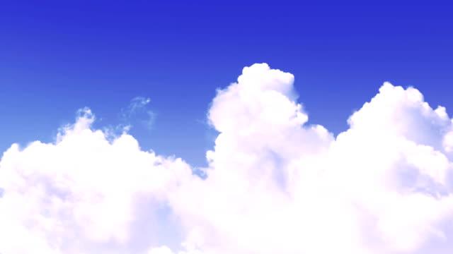 vídeos de stock e filmes b-roll de clouds background - projecção