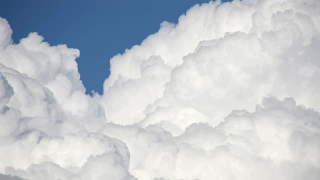 Clouds bursting