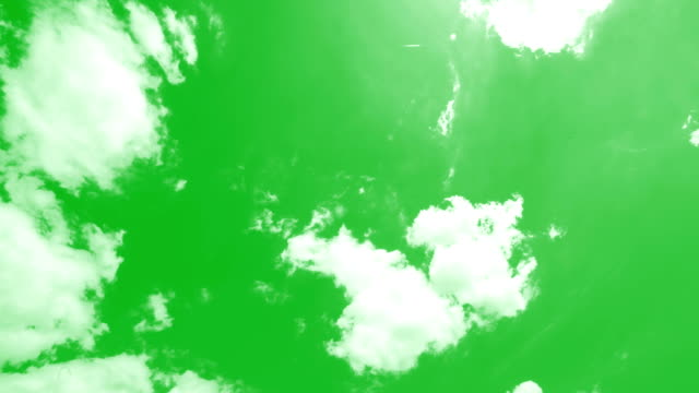 clouds chroma key - environmental conservation stock videos & royalty-free footage