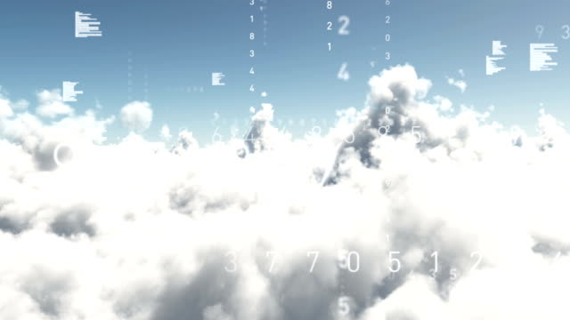 clouds & data - big data stock videos & royalty-free footage