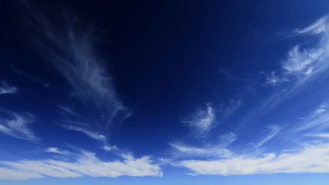 clouds drift in blue sky (extremely fast) - cerro paranal stock videos and b-roll footage