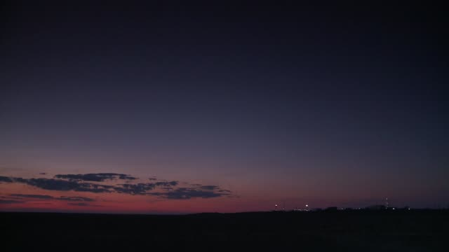 clouds float in the sky near the spaceport in kazakhstan. available in hd. - kazakhstan stock videos & royalty-free footage