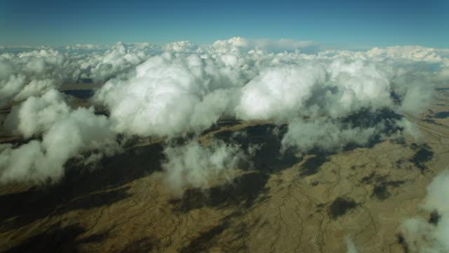 Clouds Float Over Desert In Arizona