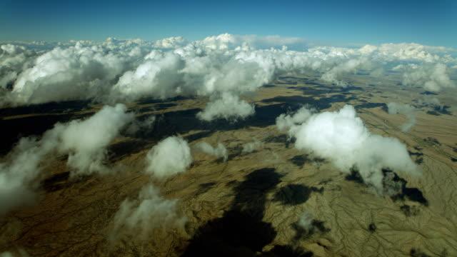clouds float over sonoran desert - sonoran desert stock videos & royalty-free footage