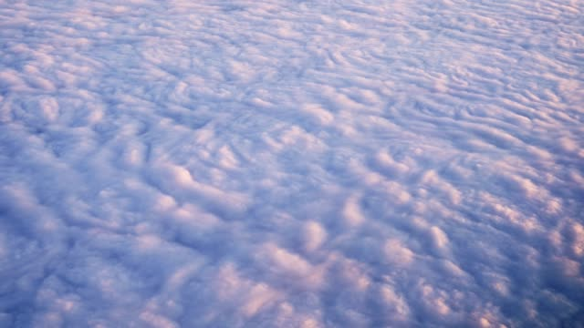 Clouds from above background