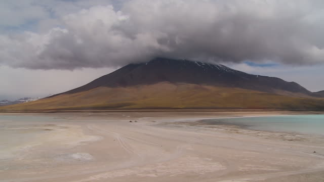 clouds gathering at the top of a mountain - bolivian andes stock videos & royalty-free footage