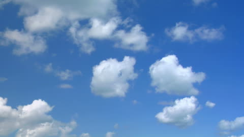 clouds, hq 1080p. progressive frames - sky only stock videos & royalty-free footage