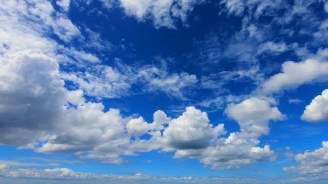 青空の雲 - 積雲点の映像素材/bロール