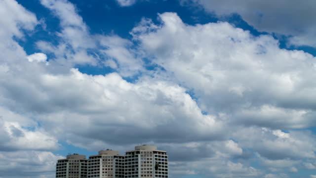 雲、ブルースカイ