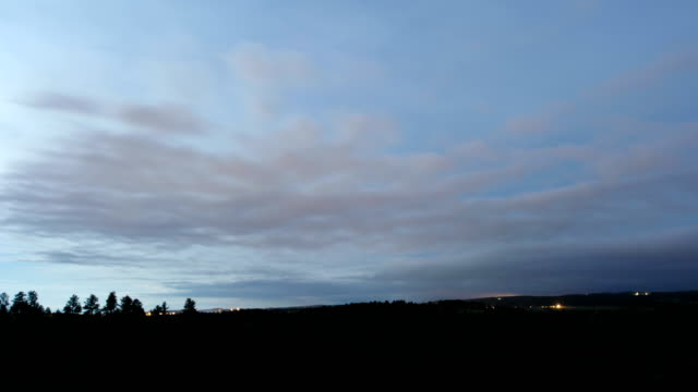 clouds in moonlit sky, time-lapse - stratocumulus stock videos and b-roll footage