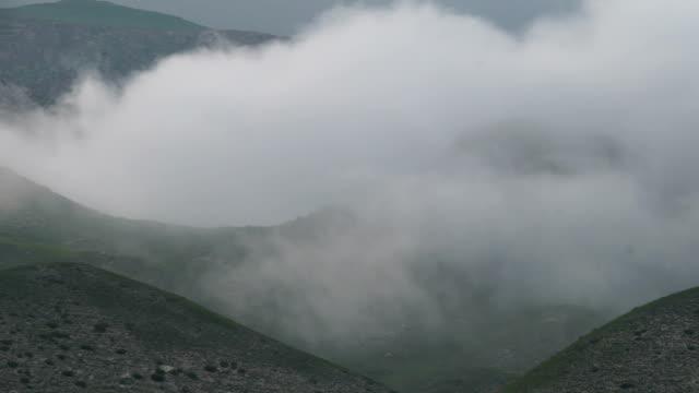 雲の山々(コーカサス - レリーフ点の映像素材/bロール