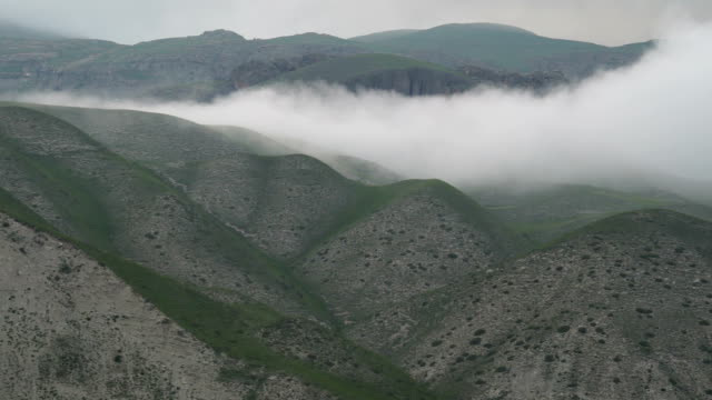 clouds in mountains (caucasus) - caucasus stock videos and b-roll footage