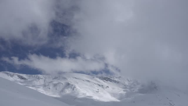 Clouds in the Sierra Nevada