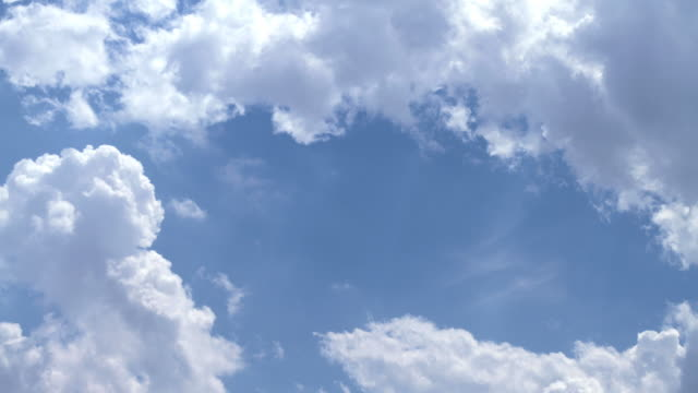 t/l clouds in the sky - cumulus cloud stock videos & royalty-free footage
