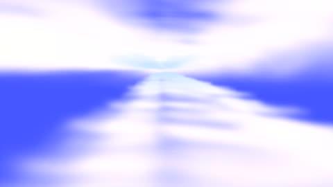 clouds in the sky-hd loop - stratosphere stock videos & royalty-free footage