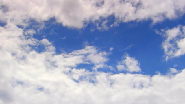 Clouds, low angle, time lapse