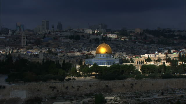 clouds moving on dome - jerusalem stock videos & royalty-free footage