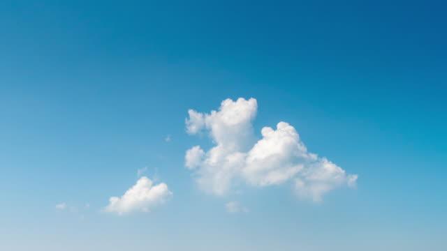 雲が動く - 澄んだ空点の映像素材/bロール
