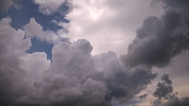 clouds moving - stratocumulus stock videos and b-roll footage