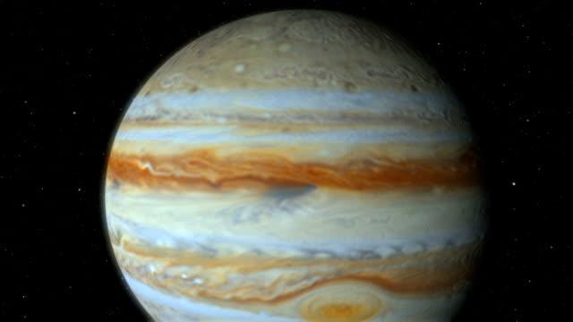 vídeos de stock e filmes b-roll de clouds of jupiter - júpiter