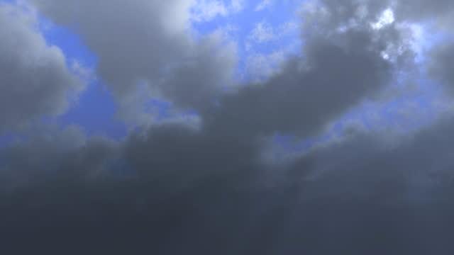 stockvideo's en b-roll-footage met wolken op blauwe hemel - hd loop - hd format