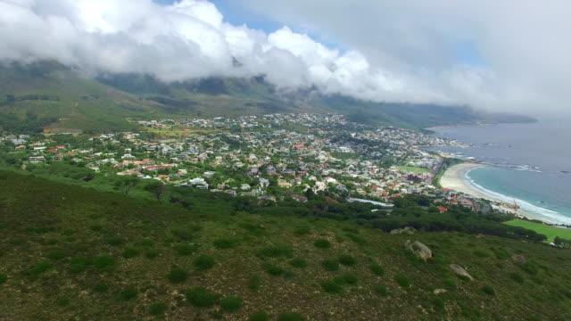 Nuvens sobre a Cidade do Cabo