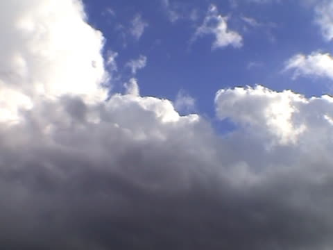 stockvideo's en b-roll-footage met clouds over holland fourty (part one) (time-lapse) - opeenvolgende serie