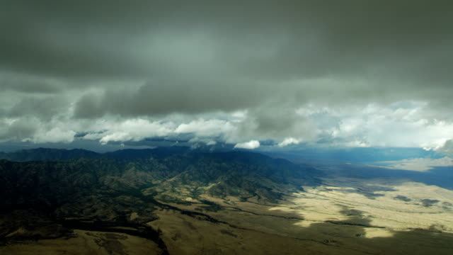 clouds over mountains in southern arizona - sonoran desert stock videos & royalty-free footage