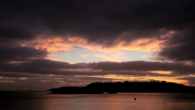 Clouds over Plymouth Sound