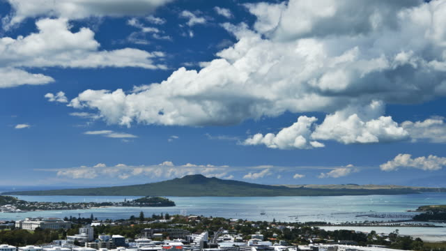 Clouds over Rangitoto