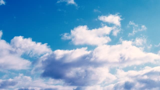 clouds part 3/5 - cumulus stock videos & royalty-free footage