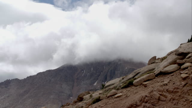 Clouds Passing Over Pikes Peak