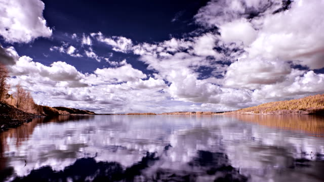 Clouds Reflect on the Columbia River