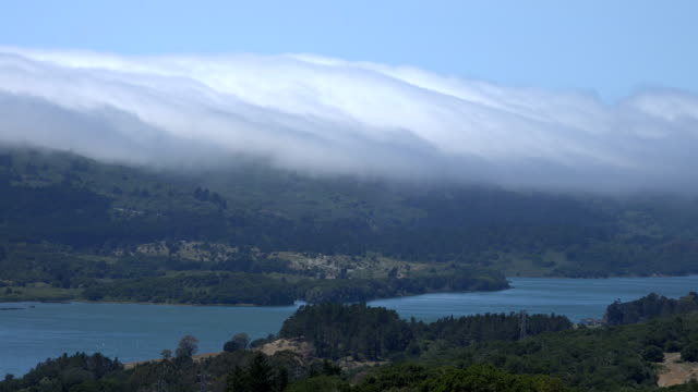 Clouds Rolling Over Green Hills