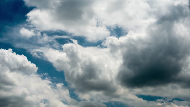 clouds running over sky - overcast stock videos & royalty-free footage